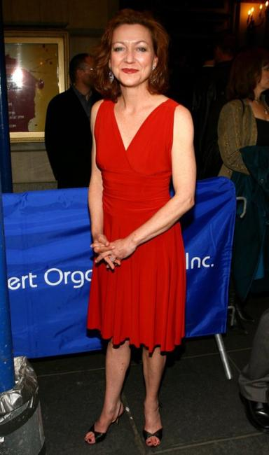 Julie White at the Broadway Opening of